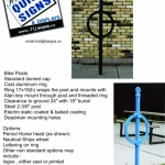 Bike posts flyer