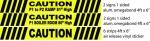 tricar caution for print