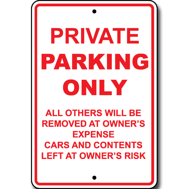 P-35 Private Parking