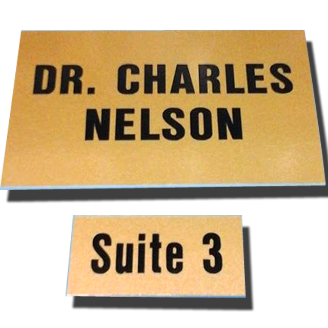 Nameplates