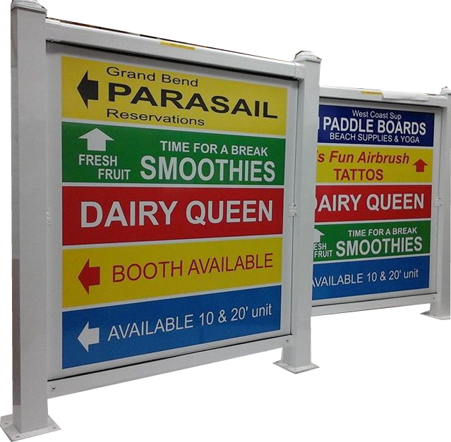 Post & Panel Signs