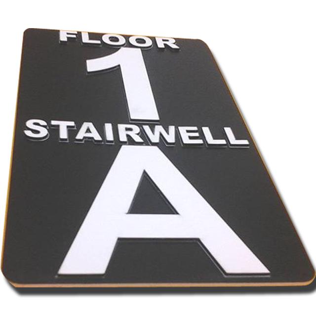 Stairwell Placard