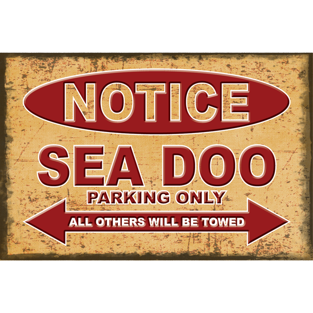 Sea Doo Sign